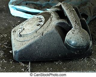 old phone, vintage telephone