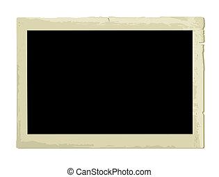 Old Photo Frame (illustration) - Old Photo Frame (XXL jpeg...