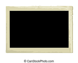Old Photo Frame (illustration) - Old Photo Frame (XXL jpeg ...