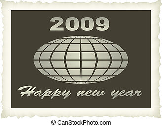 old photo new year 2009