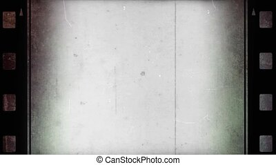 Old photographic film look with counter - overlay for your video projects. Video is HD. Old film look effect with border around the screen and a lot of sharpen. Effect is with light leaks, grainy texture, film flash, film burns, scratches and dirt. Video is HD. * Use blending modes to get ...