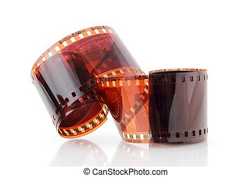 old photographic film