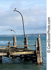 Old pier. Cobh, Ireland