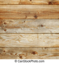 Old pine wood background square format