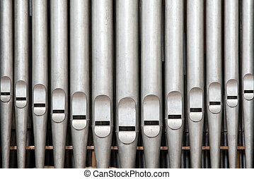 Old Pipes - Prospect pipes from an antique french organ