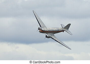 Old plane Douglas DC-3 C-47 Dakota - Douglas DC-3 C-47...