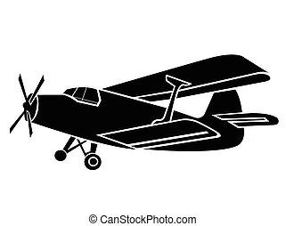 Old Plane Symbol