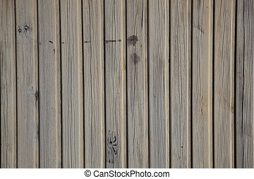 old planks with peeling brown paint