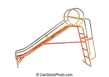 Old playground equipment