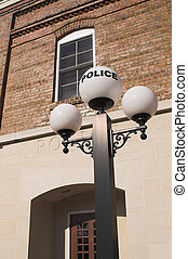 Old Police Station - A historic old timey style police...