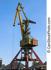 Old port crane