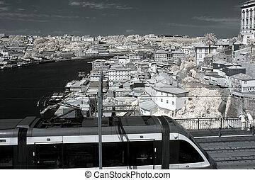 Old Porto wide view