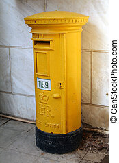old post office box from Great Britain