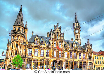 Old Post Office in Ghent, Belgium