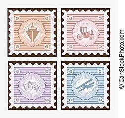 Old postage