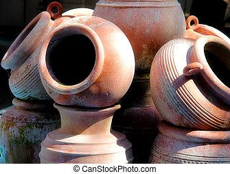 Old Pottery Jug