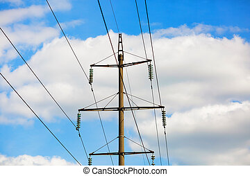 Old power lines