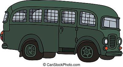 Old prison bus
