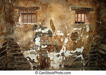 Old prison cell