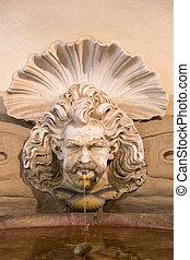 Old public fountain