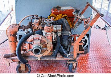 Old pump in Thailand