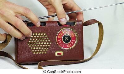 Old Radio Station Tuning