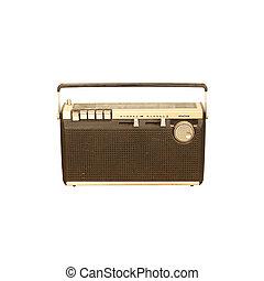 Old radio vintage