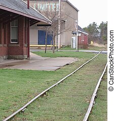 Old Railroad Station - Abandoned railroad station and ...