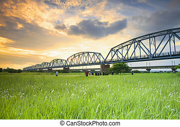 old railway bridge for adv or others purpose use