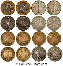 old rare coins of france