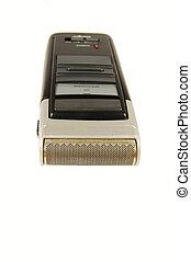 Old razor machine