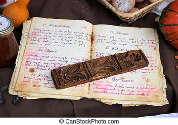 Old recipe book