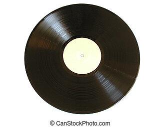 Old Record - Old vinyl record (LP)