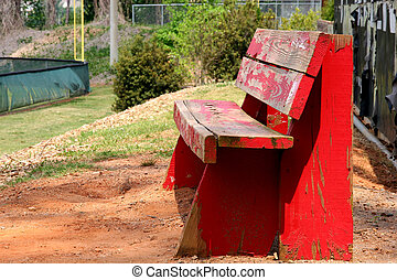Old Red Bench