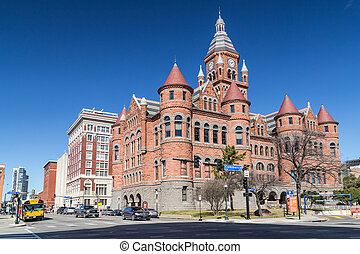 Old Red Museum, formerly Dallas County Courthouse in Dallas...