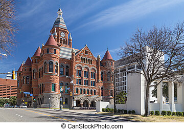 Old Red Museum, formerly Dallas County Courthouse in Dallas, Texas