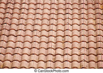 Old Red Tile Roof