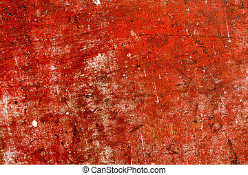 Old red wood for background.
