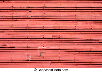 Old Red wood Wall