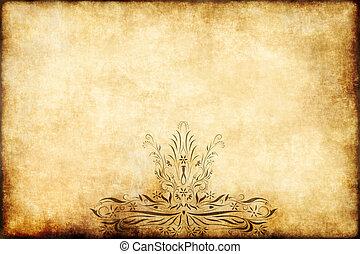 old regal parchment paper
