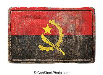 Old Republic of Angola flag