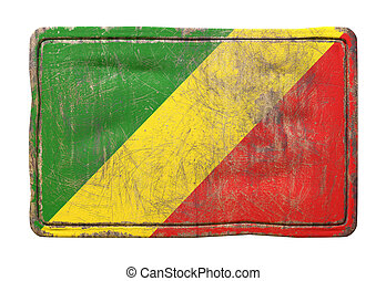 Old Republic of Congo flag