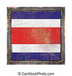 Old Republic of Costa Rica flag