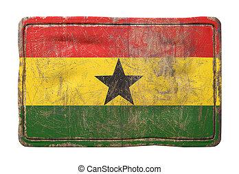 Old Republic of Ghana flag