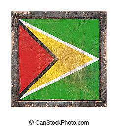 Old Republic of Guyana flag