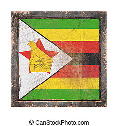 Old Republic of Zimbabwe flag - Republic of Zimbabwe flag ...