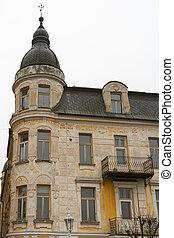 Old residential building in Frantiskovy Lazne