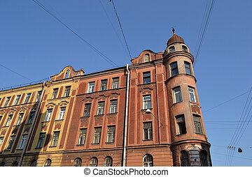 Old residential building, St.Petersburg.
