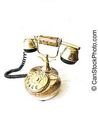 Old retro phone.