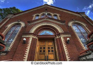 Old Roman Catholic Parish in Downtown Portland Oregon